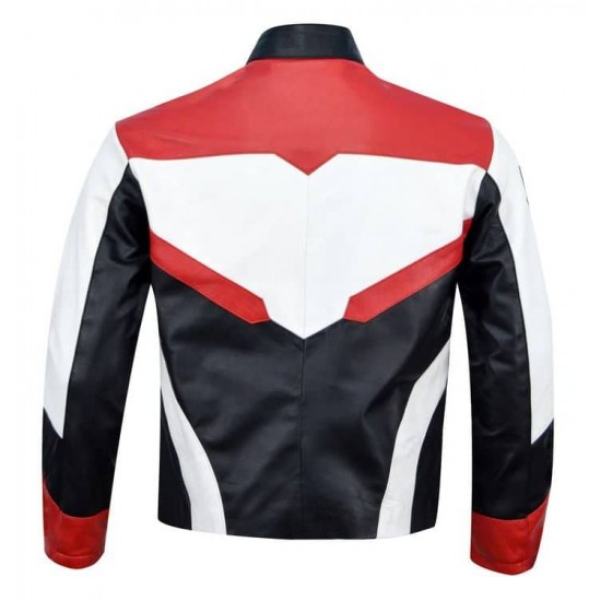 Avengers End Game Quantum Realm Real Leather Jacket