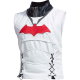 Mens Batman Arkham Knight Game Red Hood Leather Vest