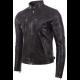 Mens Super Soft Original Leather with Side Detailing Jacket