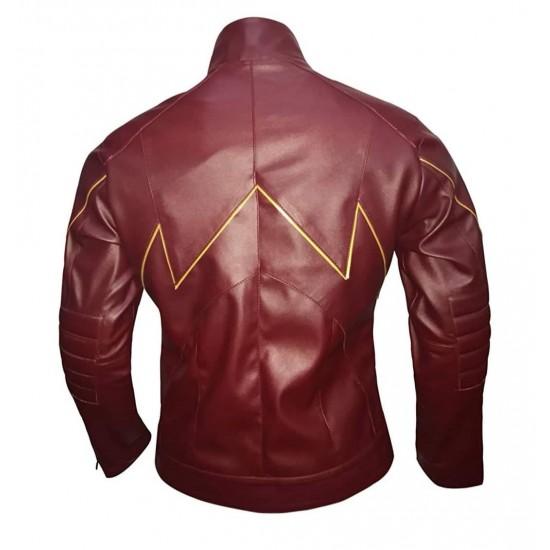 Mens The Flash Barry Allen Full Zip Jacket