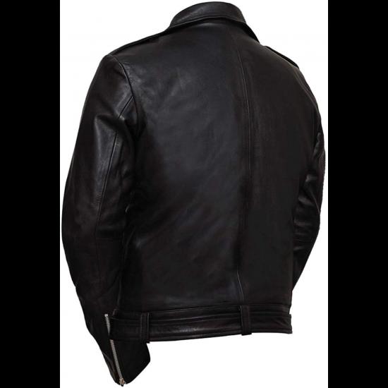 Mens The Walking Dead Negan Season 7 Real Leather Jacket